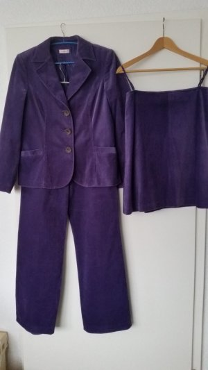 Laurèl Ladies' Suit lilac cotton