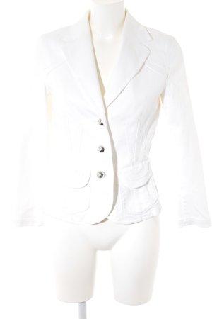 Laurèl Kurz-Blazer weiß Elegant