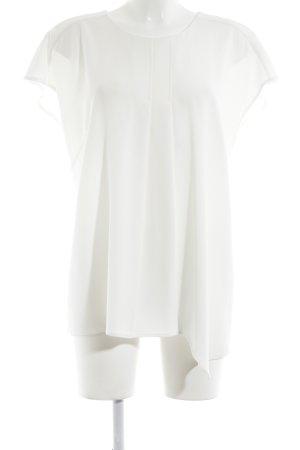 Laurèl Kurzarm-Bluse weiß Elegant