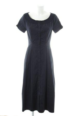 Laurèl Kurzarmkleid dunkelblau Elegant