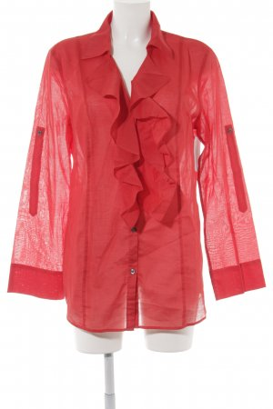 Laurèl Langarm-Bluse rot Elegant