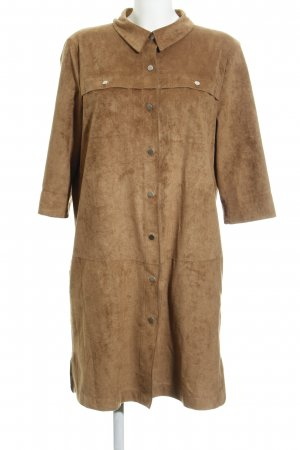 Laurèl Leather Dress beige country style