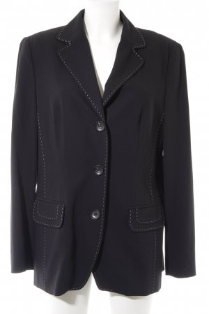 Laurèl Long-Blazer dunkelblau Business-Look