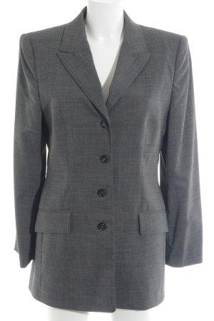 Laurèl Blazer long gris foncé style d'affaires