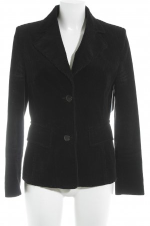 Laurèl Long-Blazer schwarz Casual-Look