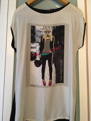 LAURÈL-Longshirt aus Seide