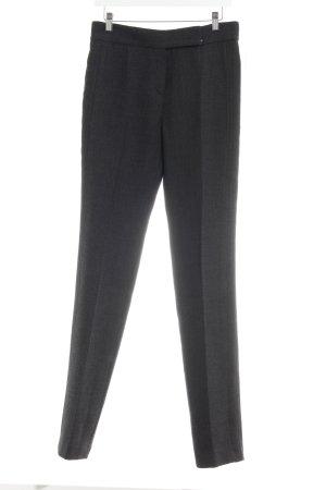 Laurèl Pantalón anchos negro-gris oscuro moteado estilo «business»