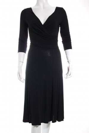 Laurèl Midikleid schwarz Elegant