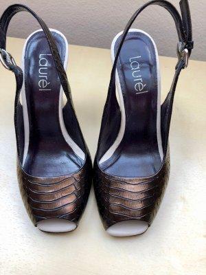 LAURÈL Peep Toe Heels, Gr. 35