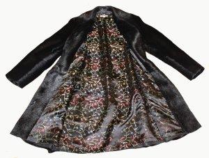 Laurèl Abrigo de piel negro Pelaje