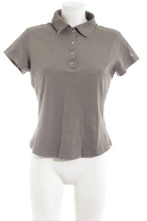 Laurèl Polo-Shirt grüngrau Casual-Look