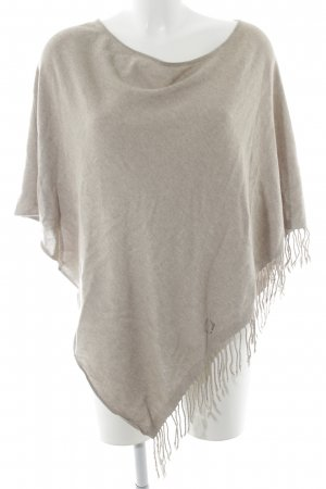 Laurèl Poncho creme-beige Casual-Look