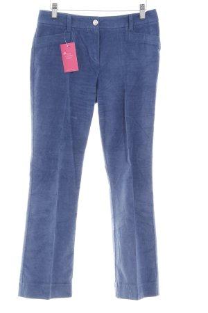 Laurèl Röhrenhose blau schlichter Stil