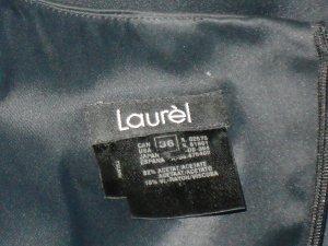 LAUREL Satin Kleid Gr 36 top Zustand
