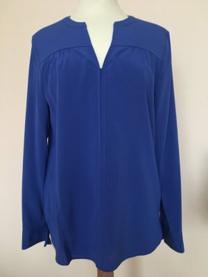 Laurel Seidenbluse in Royal Blau in Gr. 34