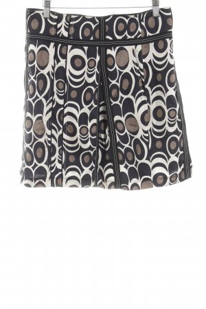 Laurèl Silk Skirt abstract print casual look