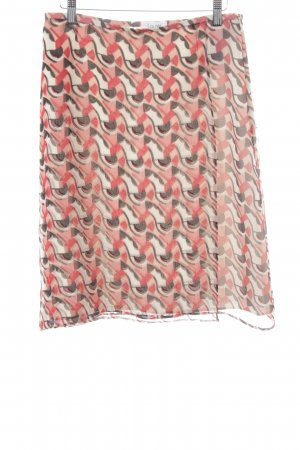 Laurèl Seidenrock abstraktes Muster 70ies-Stil