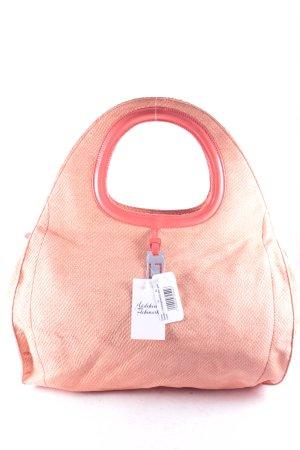 Laurèl Shopper orange-apricot extravaganter Stil