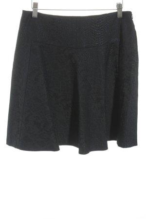 Laurèl Skaterrock schwarz-dunkelblau klassischer Stil