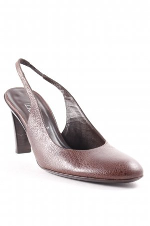 Laurèl Slingback-Pumps braun Casual-Look
