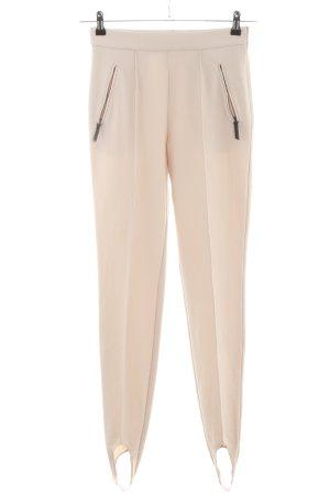 Laurèl Pantalone sfoderato crema stile professionale