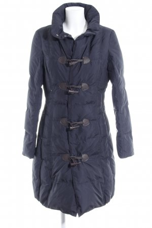Laurèl Quilted Coat black simple style