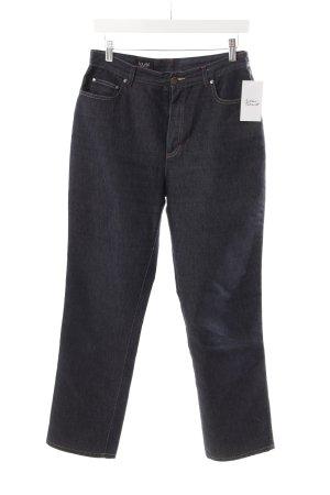 Laurèl Straight-Leg Jeans dunkelblau Casual-Look
