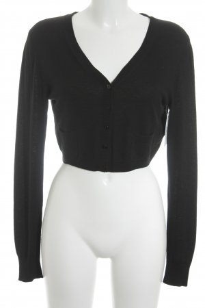 Laurèl Knitted Bolero black classic style