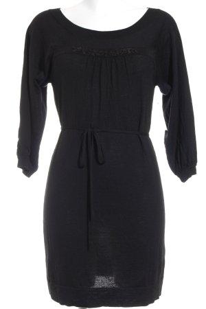 Laurèl Strickkleid schwarz klassischer Stil