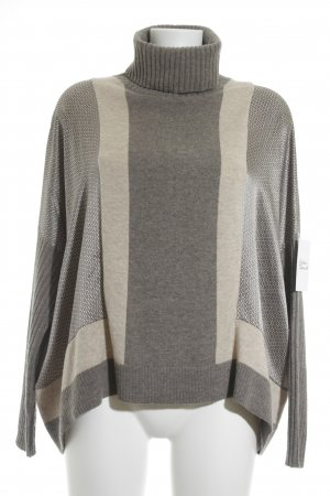 Laurèl Strickpullover abstraktes Muster Casual-Look