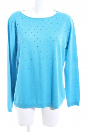 Laurèl Strickpullover blau Casual-Look