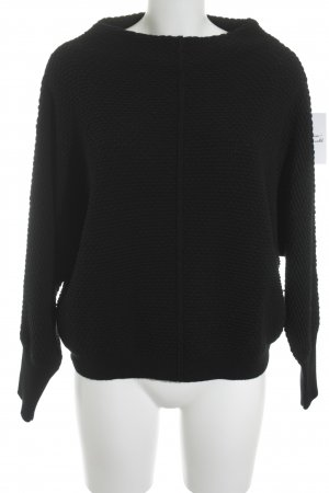 Laurèl Strickpullover schwarz Casual-Look