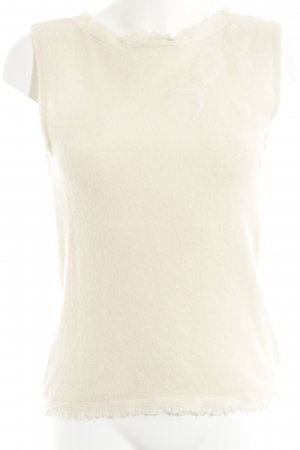 Laurèl Knitted Top cream elegant