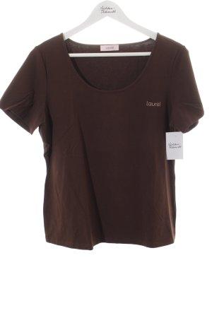 Laurèl T-Shirt braun Casual-Look