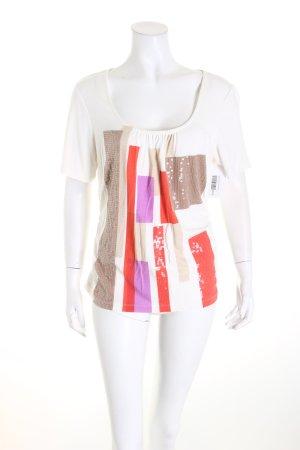 Laurèl T-Shirt Colourblocking Casual-Look