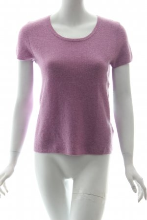Laurèl T-Shirt rosa Kuschel-Optik