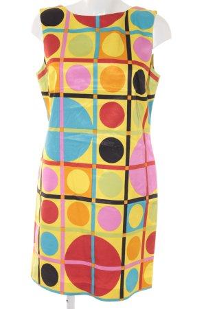 Laurèl Trägerkleid abstraktes Muster extravaganter Stil