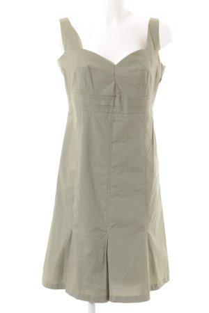 Laurèl Trägerkleid graugrün minimalistischer Stil