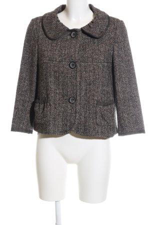 Laurèl Tweed Blazer brown-cream flecked business style
