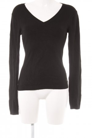 Laurèl V-Neck Sweater black casual look