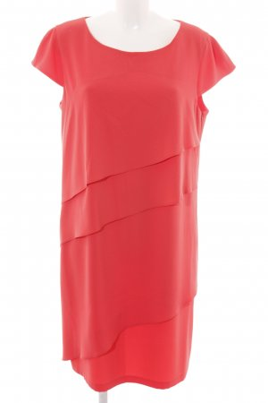 Laurèl Volante jurk licht Oranje casual uitstraling