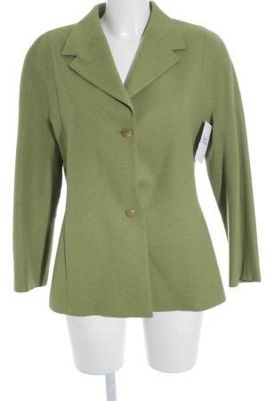 Laurèl Woll-Blazer grasgrün Retro-Look