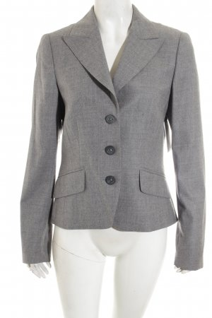 Laurèl Woll-Blazer grau meliert Business-Look
