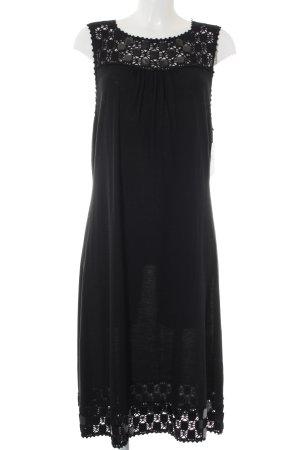 Laurèl Vestito di lana nero stile casual