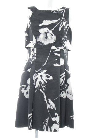 Lauren by Ralph Lauren A-Linien Kleid abstraktes Muster Elegant