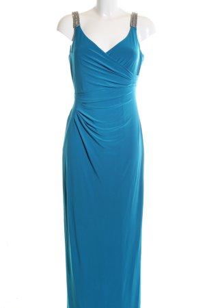Lauren by Ralph Lauren Abendkleid blau Elegant