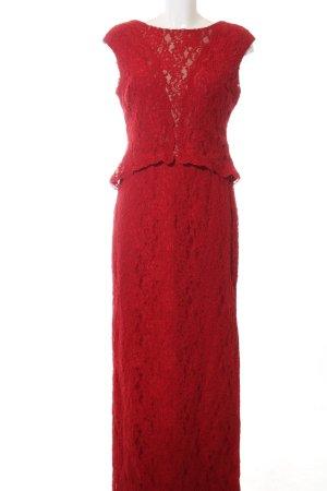Lauren by Ralph Lauren Abendkleid rot Elegant
