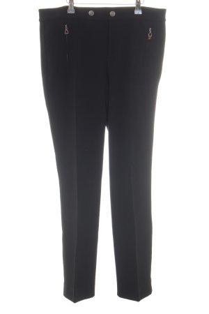 Lauren by Ralph Lauren Pantalone da abito nero stile professionale