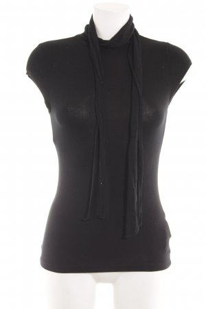 Lauren by Ralph Lauren Basic Top schwarz Elegant