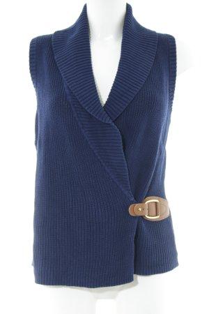 Lauren by Ralph Lauren Cardigan blau-braun Business-Look